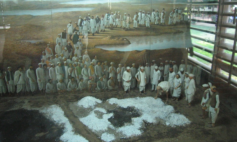 The Salt March to Dandi