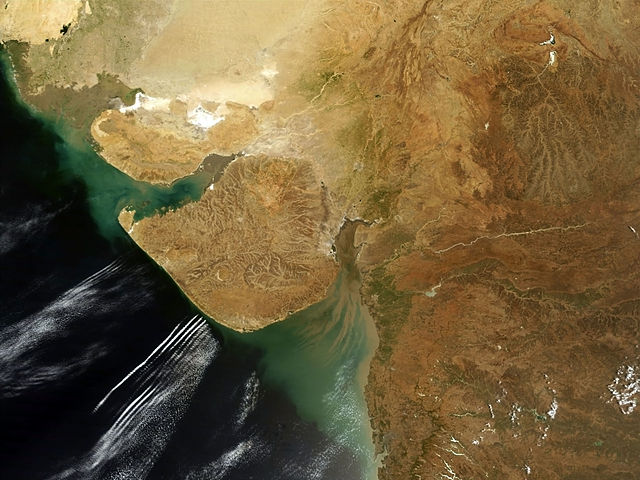 Gujarat_satellite_view