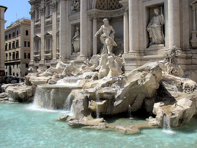 The Fountain of Trevi