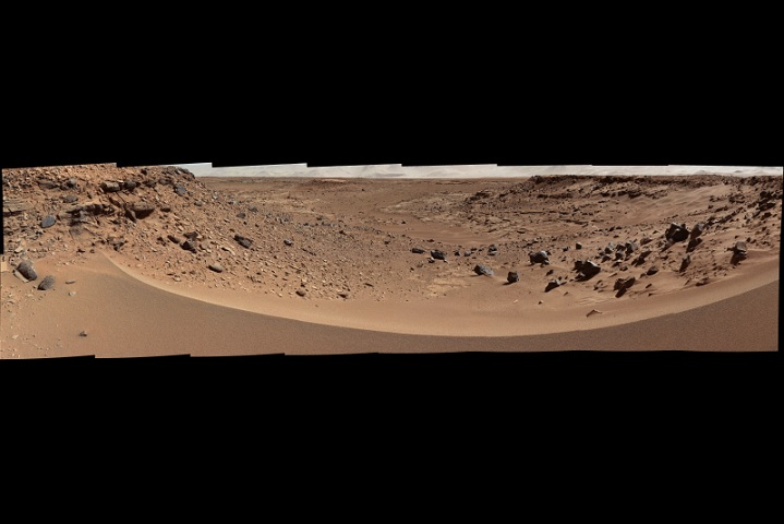 Dingo Gap at Mars