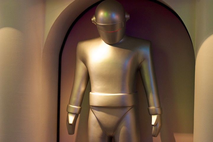 Humanoid robot Gort, on display at the Robot Hall of Fame