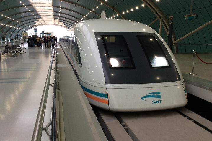 Maglev trains