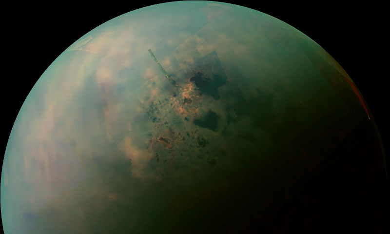 Titan's lakes around its North pole