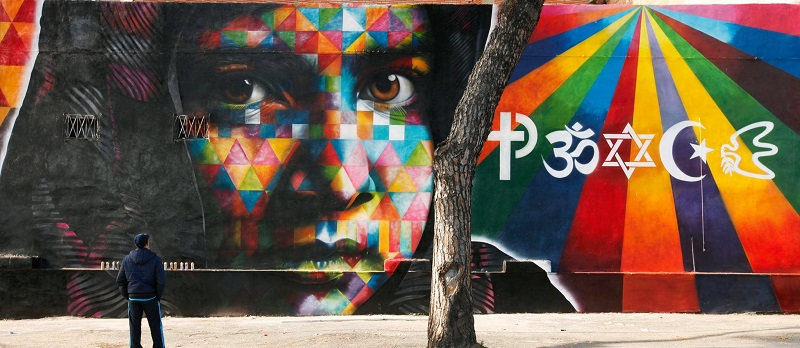 "The ""Peace"" Mural of Italy, a glowing tribute to Malala"