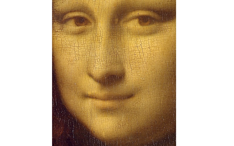 Mona Lisa apperas to be having no eyebrows or lashes, Image Credit: Flickr User The Public Domain Review, via CCMona Lisa apperas to be having no eyebrows or lashes, Image Credit: Flickr User The Public Domain Review, via CC