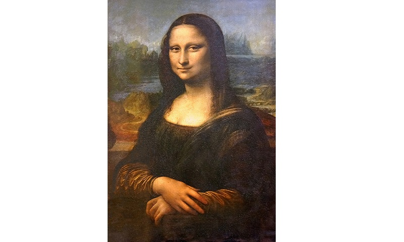 The famous Mona Lisa by Leonardo da Vinci. It is a oil on panel, 1503–19, probably completed while the artist was at the court of Francis I. Image Credit: Flickr User Dennis Jarvis, via CC